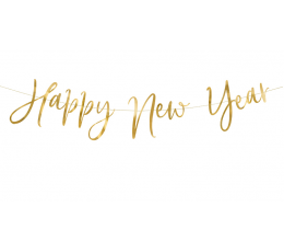 "Virtene  ""Happy new year""  (66 x 18 cm)"