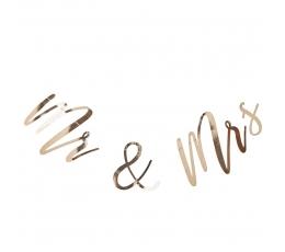 """Virtene """"Mr& Mrs"""", zelta (2 m)"""