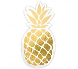 """Šķīvīši """"Ananas"""" (6 gab)"""