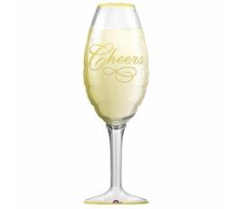 """Formīgs balons """"Šampanieša glāze"""" (35x97 cm)"""