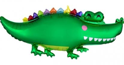 "Folija balons ""Krokodils"" (106 x 48 cm)"