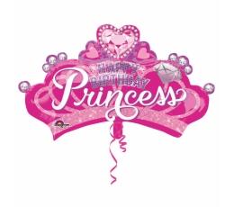 """Formīgs folija balons  """"Princeses kronis"""" (81 x 48 cm)"""