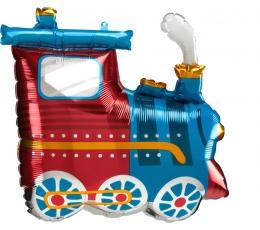 """Formīgs folija balons """"Vilciens"""" (63 x 55 cm)"""