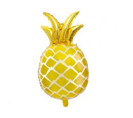 "Formīgs folija balons ""Zelta ananas"" (48x67cm)"