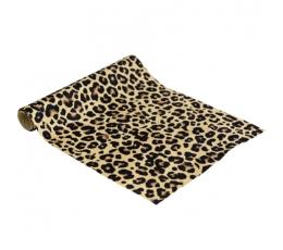 Galda celiņš, geparda rakstā (28 cm x 3 m)