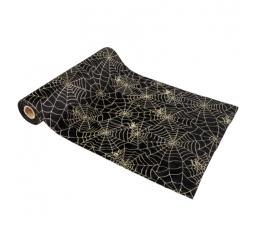 """Galda celiņš """"Zelta zirnekļa tīkls"""" (28 cm x 5 m)"""