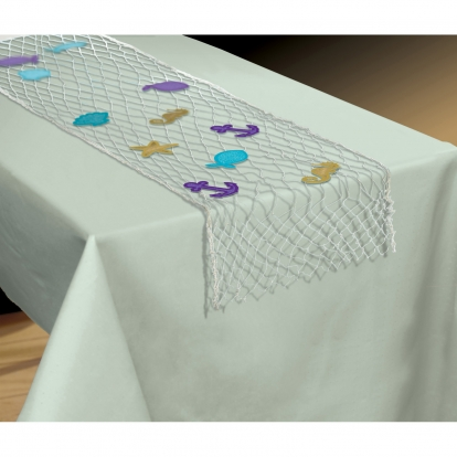 """Galda celņš """"Zvejnieku tīkls"""" (96x165 cm)"""