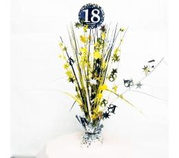 """Galda dekorācija """"18-tā dzimšanas diena"""""""