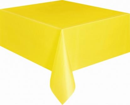 Galdauts, spilgti dzeltens (137x274 cm)