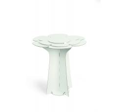 """Galdiņš """"Zieds"""", balts kartona (60X58 cm)"""
