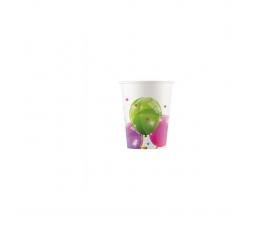 "Glāzītes ""Balonu fiesta""  (8 vnt./200 ml)"
