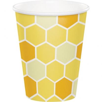 """Glāzītes """"Bitītes"""" (8 gab/266 ml)"""