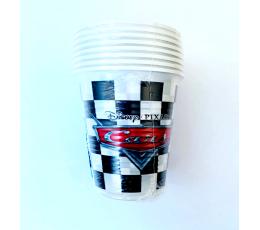 """Glāzītes """"Cars Racers"""" (8 gab./200 ml)"""