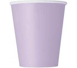 Glāzītes, ceriņkrāsā (8 gab./266 ml)