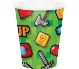 "Glāzītes ""Datorspēles"" (8 gab/266 ml)"