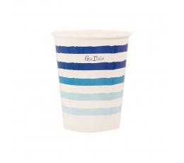 """Glāzītes """"Jūras elpa"""" (8 gab./250 ml)"""