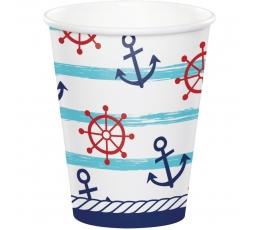 """Glāzītes """"Jūras svētki"""" (8 gab./266 ml)"""