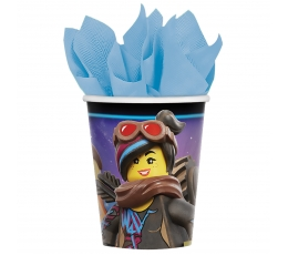"Glāzītes ""Lego Movie 2"" (8 gab/266 ml)"