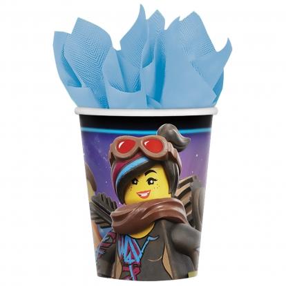 "Glāzītes ""Lego Movie 2"" (8 gab/266 ml)"