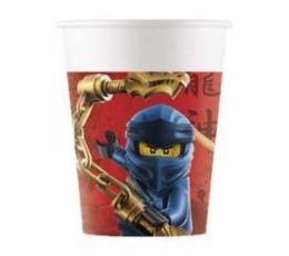 """Glāzītes """"Lego Ninjago"""" (8 gab ./200 ml)"""