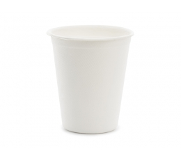 Glāzītes no cukurniedrēm, baltas (6gab/250 ml)