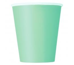 Glāzītes, piparmētras krāsā (14 gab./270 ml)