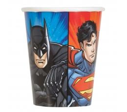 """Glāzītes """"Supervaroņi"""" (8 gab/270 ml)"""