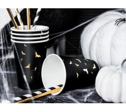 """Glāzītes """"Zelta sikspārņi"""" (6 gab/ 220 ml)"""