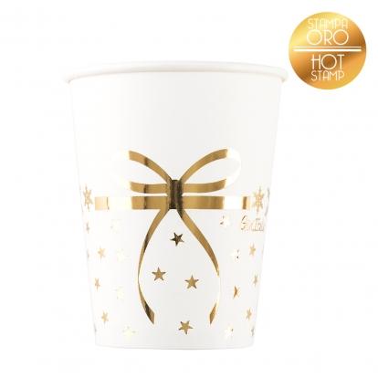 """Glāzītes """"Zelta zvaigznītes"""" (8 gab/250 ml)"""
