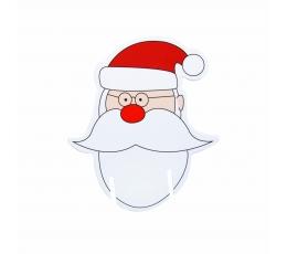 """Glāžu dekorācijas """"Ziemassvētku vecītis"""" (10 gab)"""