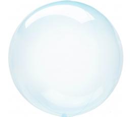 Gumijas balons-clearz, gaiši zils (40 cm)