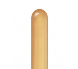 "Gumijas ""CHROME""  figūru  baloni / zelta (100gab. Q260)"
