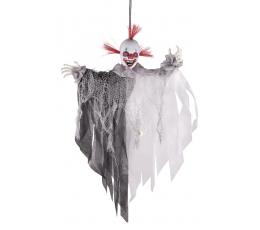 """Interaktīva pakarināmā dekorācija """"Biedējošs klauns"""" (60 cm)"""