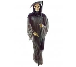 """Interaktīva dekorācija """"Skelets ar izkapti"""" (1,80 m)"""