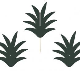 """Irbulīši-dekorācijas """"Ananāsu kāti"""" (6 gab) 1"""
