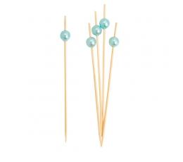 """Irbulīši dekorācijas """"Gaiši zilas pērlītes"""" (25 gab)"""