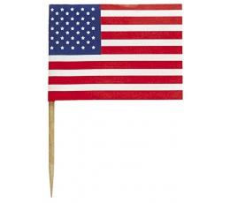 "Irbulīši-karodziņi ""Amerika"" (30 gab)"