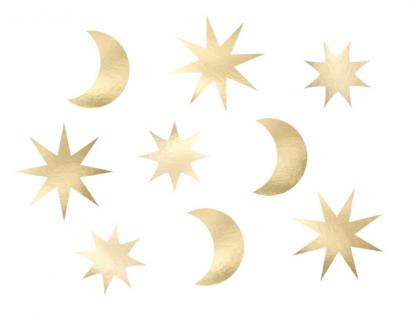 """Izgriezumi-dekorācijas """"Zvaigžņota debess"""" (9 gab)"""