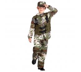 Karavīru kostīms, bērnu (7-9 gadi)