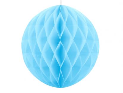 Karināma dekorācija, gaiši zila (30 cm)