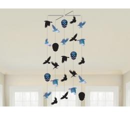 """Karināmās dekorācijas """"Helovīna putni"""""""