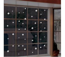 """Karināmās dekorācijas """"Sniega bumbiņas"""" (12,8 m)"""