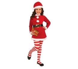 """Karnevāla kostīms """"Ziemassvētku meitene"""" (116 - 130 cm)"""