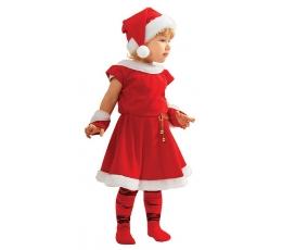 """Karnevāla kostīms """"Ziemassvētku meitene"""" (122-128 cm)"""