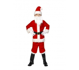 """Karnevāla kostīms """"Ziemassvētku vecītis"""" (104 - 110 cm)"""