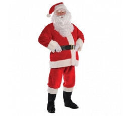 """Karnevāla kostīms """"Ziemassvētku vecītis"""" (168-190 cm/ S)"""