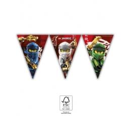 """Karodziņu vītne """"Lego Ninjago"""" (9 karodziņi)"""