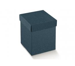 Kaste - taisnstūrveida / zila (1 gab ./345*345*110 mm.)