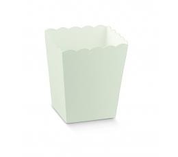 Kastīte uzkodām, balta (7x7x11 cm)