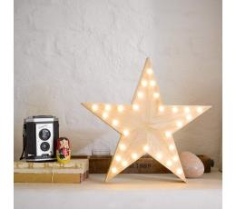 "Koka gaismas dekors ""Zvaigzne"" (33 cm)"